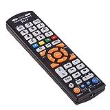 6つのキー純粋な学習リモートコントロールリモートコントロールTV STBの場合、DVD、DVB、ハイファイ リモコン シンプル TVリモコン (as picture) (赤)