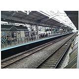 ポストカード「京都駅新幹線ホーム」フォトカード絵はがきハガキ葉書postcard