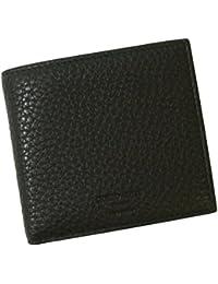 [アルマーニ]ARMANI 財布 ジョルジオアルマーニ 二つ折 メンズ (ブラック) A-2409 [並行輸入品]