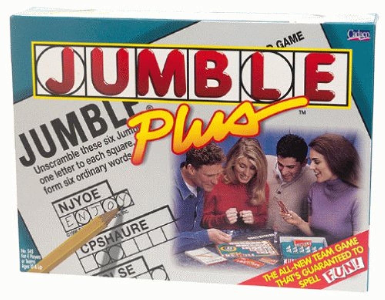 Jumble Plus crossword game