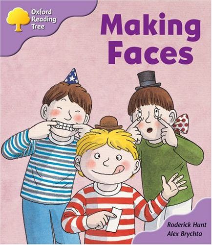 Oxford Reading Tree: Stage 1+: More Patterned Stories: Making Faces: pack Aの詳細を見る