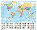 ポスター 世界地図 MP-0564