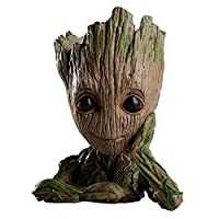 zinuo GrootアクションフィギュアGuardians Of The Galaxy FlowerpotベビーキュートモデルおもちゃペンポットBest Gifts 6.3in