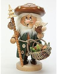 ドイツ語喫煙者Incense GnomeマッシュルームMan – 27 cm / 11インチ – Christian Ulbricht