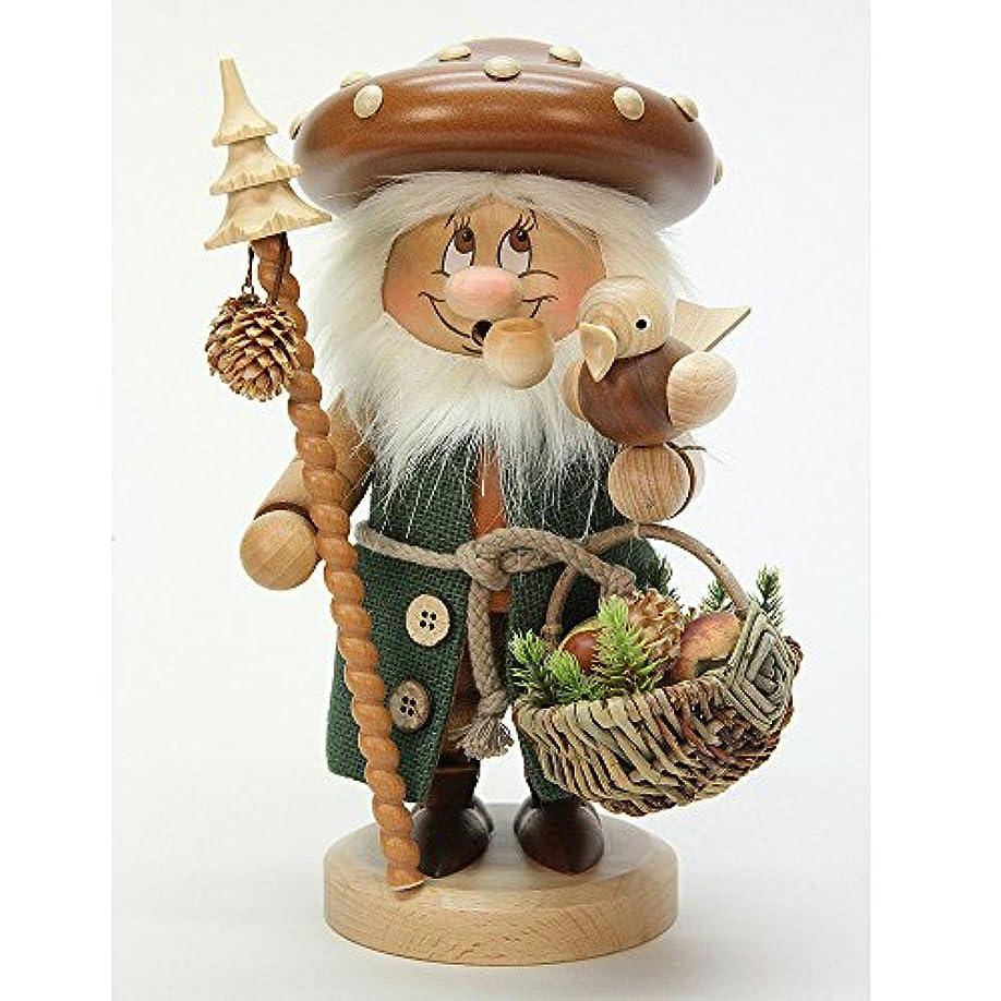 寺院道徳のリーズドイツ語喫煙者Incense GnomeマッシュルームMan – 27 cm / 11インチ – Christian Ulbricht