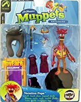 The Muppets ToyFare Exclusive Action Figure Vacation Pepe by The Muppet Show
