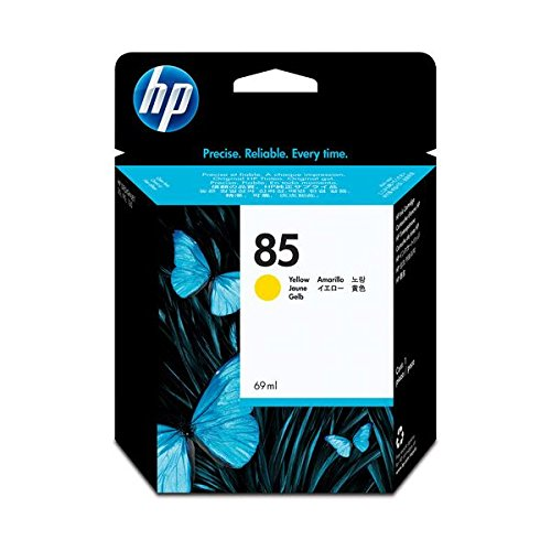 (まとめ) HP85 インクカートリッジ イエロー 69ml...