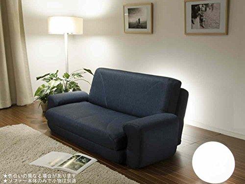 【日本製】 Sofa Bed COLICO ソファベッド A19 タスクネイビー