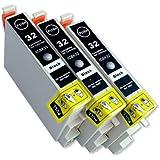 EPSON(エプソン) 互換インクカートリッジIC32 ブラック3本セット 残量表示機能付 Angelshopオリジナル