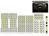 トヨタ 10系 アルファード 専用設計 純白 ホワイト LED ルームランプ 11点セット ANH10W/MNH10W/ATH10W 前期/後期 対応