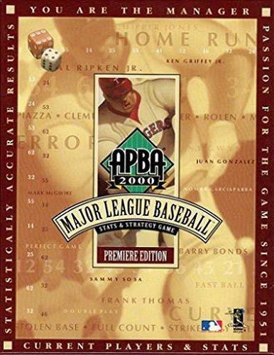 APBA 2000 Major League Baseball Stats & Strategy Game Premiere Edition by APBA Baseball [並行輸入品]
