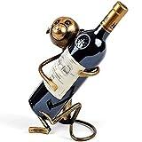 ちゃみ ワインホルダー ワインラック ワインボトルラック ワイン棚 アンティーク調 ワイン シャンパン ボトル スタンド インテリア ディスプレイ レトロ(さる)