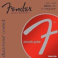 Fender アコースティックギター弦 Dura-Tone® 880CL-12 80/20 Coated 12-String.010-.050