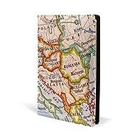 ブックカバー a5 地図 ヨーロッパ 文庫 PUレザー ファイル オフィス用品 読書 文庫判 資料 日記 収納入れ 高級感 耐久性 雑貨 プレゼント 機能性 耐久性 軽量
