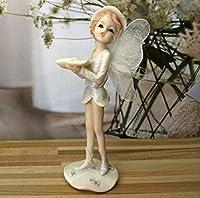 リビングルームの装飾品 妖精樹脂工芸品のリビングルームの家の装飾の装飾品天使の置物小さな像