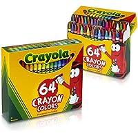 Crayola 64 Ctクレヨン( Pack of 2 )