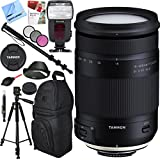 Tamron 18–400mm f / 3.5–6.3Di II VC HLD All - in - Oneズームレンズfor Nikonマウントwith Pro SlingバックパックPlusアクセサリーバンドル