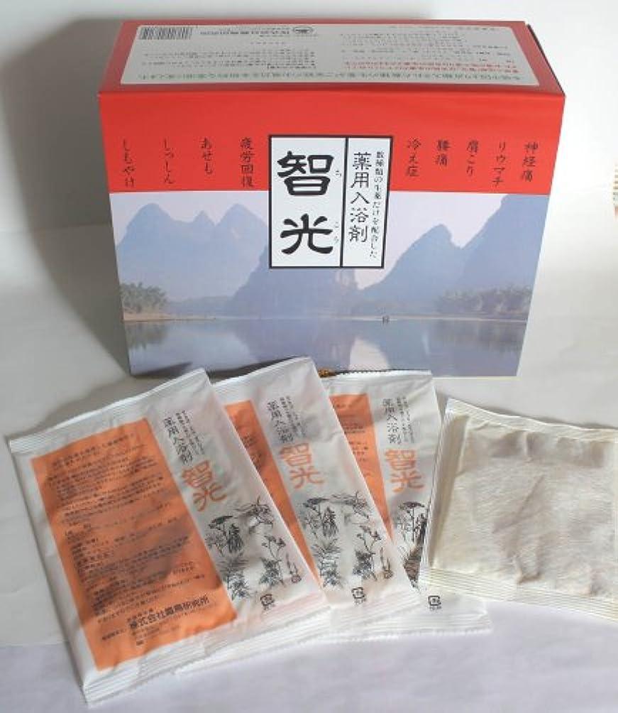 エチケット匿名違法薬用入浴剤 智光 (25g×32包入り)化粧箱なし