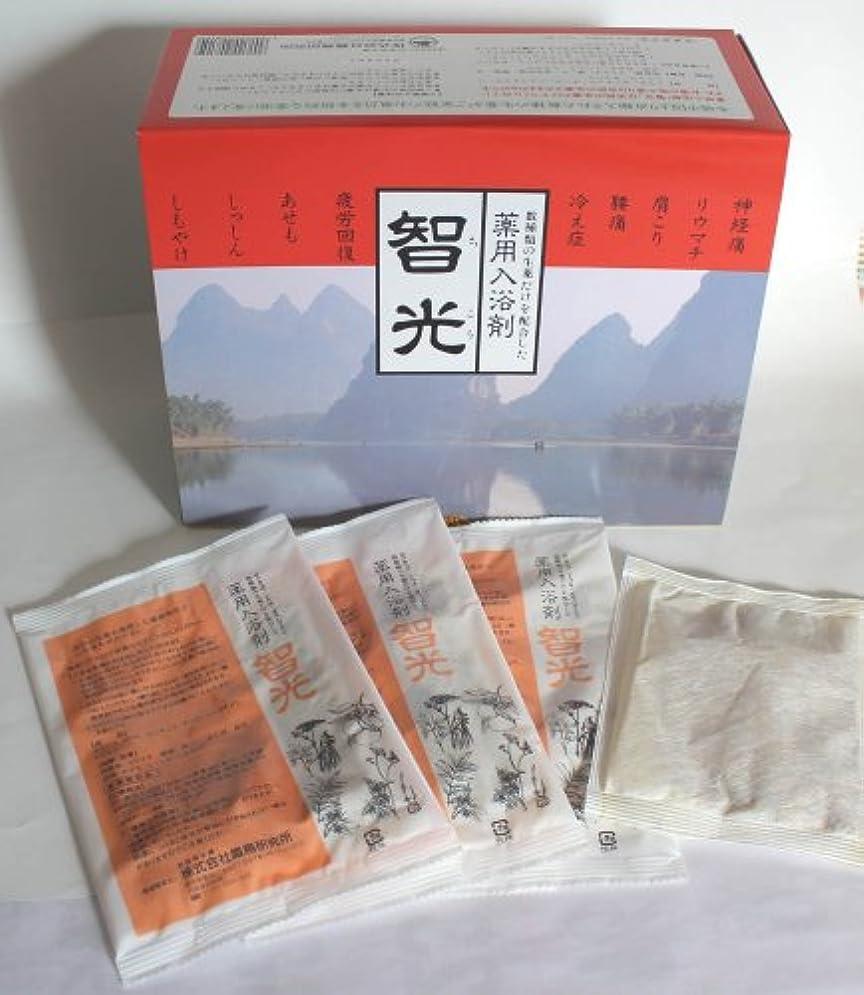 規制する増幅器示す薬用入浴剤 智光 (25g×32包入り)化粧箱なし