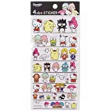 Sanrio All Cheracters Stickers Hello Kitty 4 Sizes Stickers