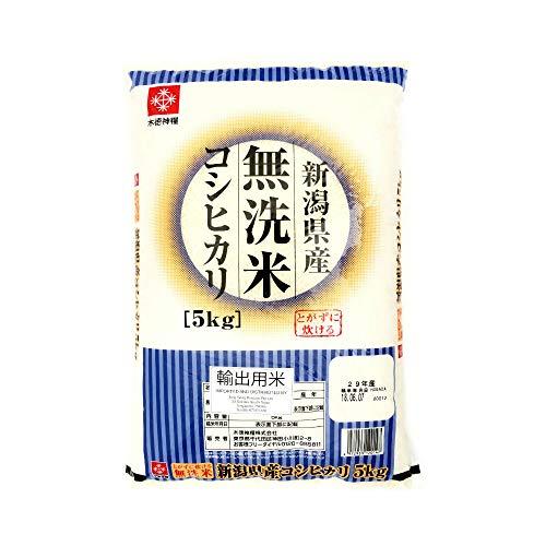 木徳神糧 無洗米 木徳神糧 新潟県産 コシヒカリ5KG 5KG 1袋