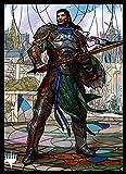 マジック:ザ・ギャザリング プレイヤーズカードスリーブ 『灯争大戦』ステンドグラス 《黒き剣のギデオン》 (MTGS-116)