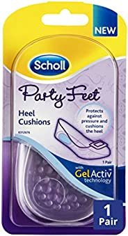Scholl Party Feet Gel Heel Cushions, 1 Pair