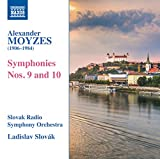 モイゼス:交響曲 第9番・第10番