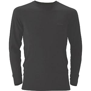 mont-bell スーパーメリノウール L.W.ラウンドネックシャツ