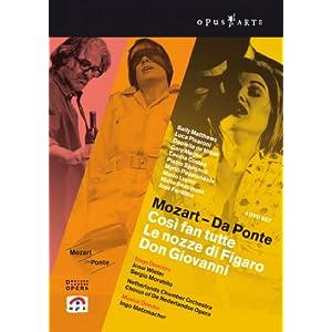 ネーデルランド・オペラ 2006 & 2007 モーツァルト ダ・ポンテ・オペラ 3部作 [DVD] [Import]