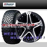 16インチ 4本セット タイヤ&ホイール BFグッドリッチ(BFGoodrich) All-Terrain T/A KO 225/70R16 ウェッズ