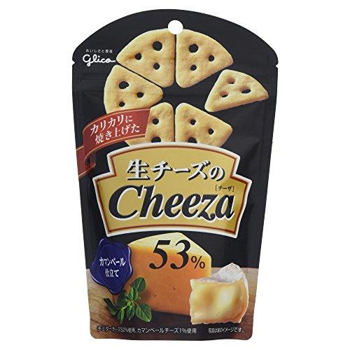 江崎グリコ 生チーズのチーザ カマンベールチーズ 40g