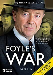 Foyle's War: From Dunkirk to Ve-Day Sets 1-5 [DVD] [Import]