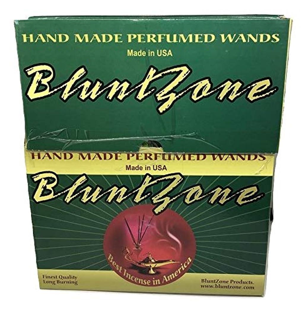 行為ローラー証明するBLUNTZONE Blunt Zone 手染めお香ディスプレイ 72カウント 合計864 お香スティック