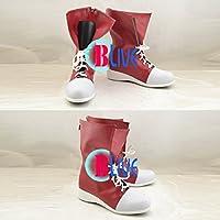 ●●サイズ選択可●●I0105ZAI コスプレ靴 ブーツ カゲロウプロジェクト メカクシ団団員NO.6 エネ 榎本貴音 えのもとたかね 男性25CM