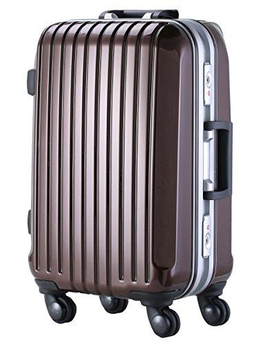 L型 モカブラウン/DL-2254 スーツケース キャリーケース TSAロック搭載 大型
