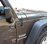 TrunkNets 6 3/4インチアンテナマスト - Jeep JK Wrangler 2007 08 09 10 11 12 13 14 15 16 17 2018年モデルに適合