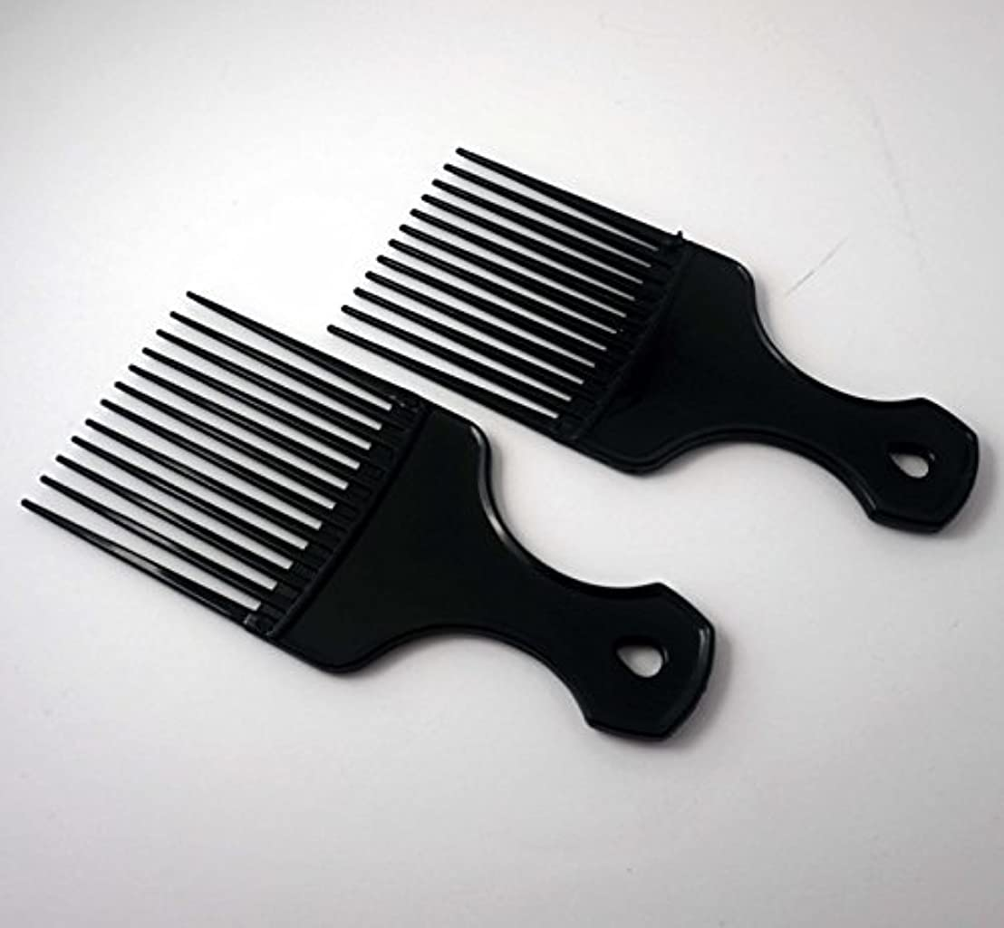 7in Plastic Pick Comb [並行輸入品]