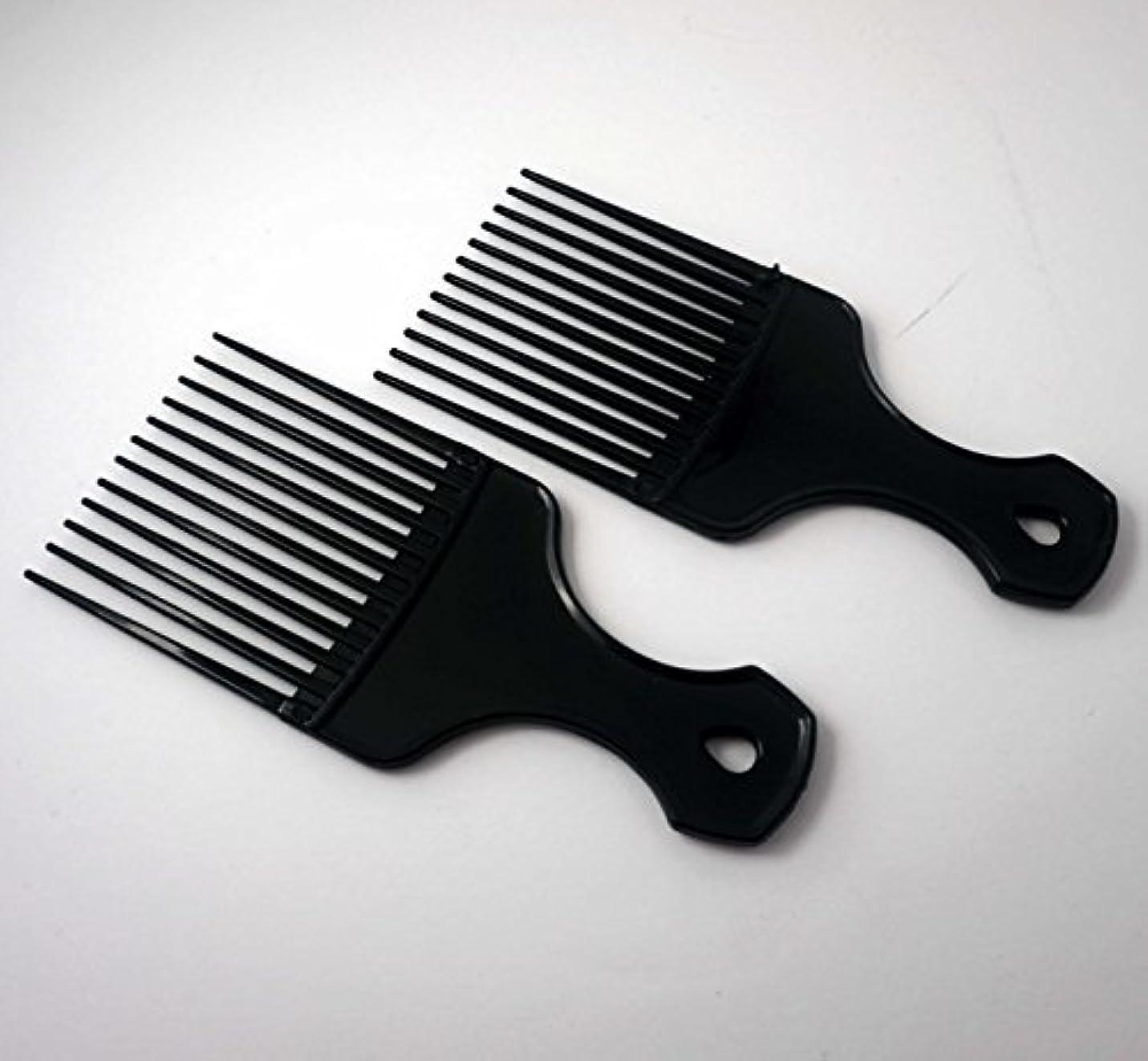 鉱石チャンス最初に7in Plastic Pick Comb [並行輸入品]
