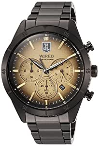 [ワイアード]WIRED 腕時計 WIRED JUSTICE LEAGUE 1,500本限定モデル クロノグラフ 10気圧防水 AGAT717 メンズ