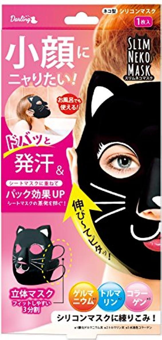 早めるうねる日ビューティーワールド スリムネコマスク 2枚セット SNM781