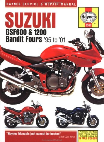 Suzuki Gsf600 & 1200 Bandit Fours Service and Repair Manual: 1995 - 2001 (Haynes Service and Repair Manuals)