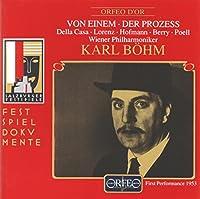アイネム:歌劇「審判」 (2CD)  (Einem, Gottfried v.: Der Prozess)