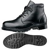 ミドリ安全 安全靴 中編上靴 W262N(4E) ブラック 23.5cm