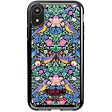 Tech21 Pure Print Strawberry Thief Phone Case Cover for Apple iPhone XR - Blue
