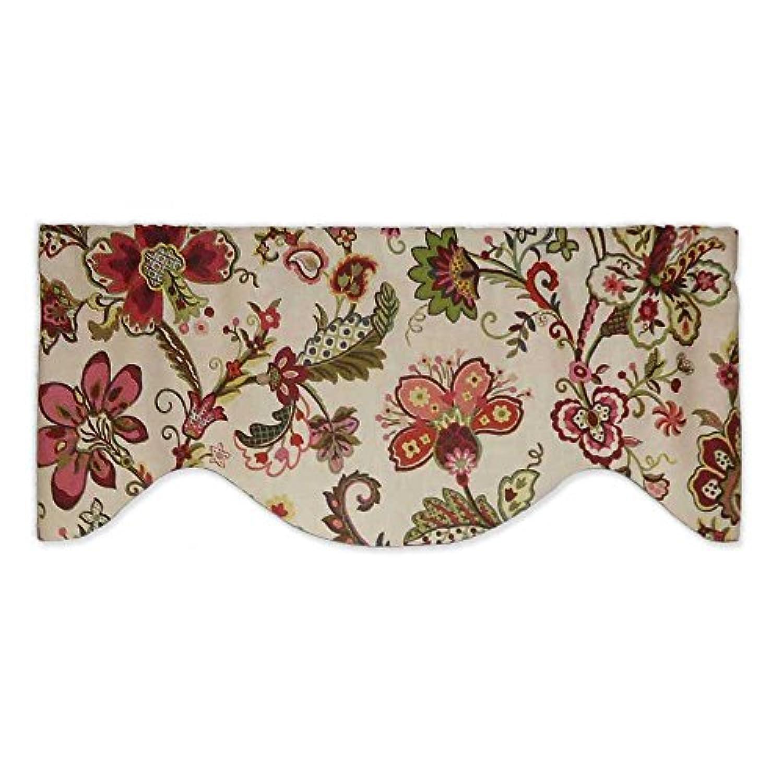 P KaufmannカラフルJacobean Floral onアイボリー飾り布