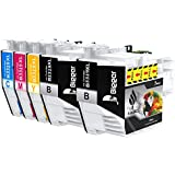 Bigger Replacement for Brother LC3319XL Ink Cartridges to use with MFC-J5330DW MFC-J5730DW MFC-J6530DW MFC-J6730DW MFC-J6930DW (2 Black,1 Cyan,1 Magenta,1 Yellow) 5 Pack