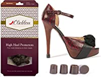 Dark Brown Clicklessテつョ Heel Protectors by Clickless