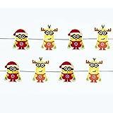 怪盗グルーミニオンズKurt AdlerクリスマスHoliday LEDフェアリーライトボックス版 イエロー
