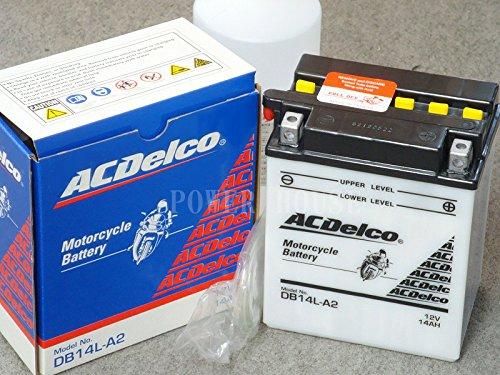 バイクバッテリー AC Delco DB14L-A2 【開放型】 ACデルコ
